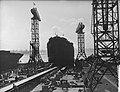Tewaterlating tanker Kermia door mevrouw dAilly NDSM, Bestanddeelnr 907-0750.jpg