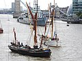 Thames barge parade - in the Pool - Centaur - Reminder 6714.JPG