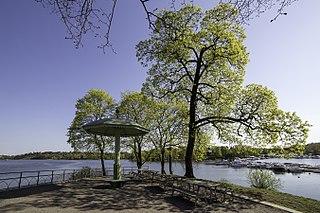 Bellevue (Stockholm) park in Stockholm, Sweden