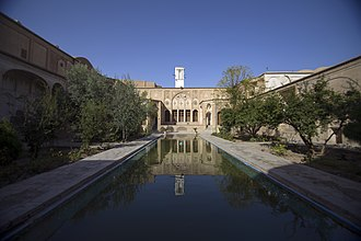 Borujerdi House - Image: The Borujerdi House is a historic house in Kashan, Iran خانه تاریخی بروجردی ها در کاشان 01