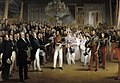 The Duke of Orleans receives at the Palais Royal the members of the Chambers of Deputies, 7 August 1830.jpg