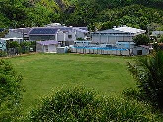 Hahajima - Haha-jima Elementary School and Junior High School (小笠原村立母島小中学校)