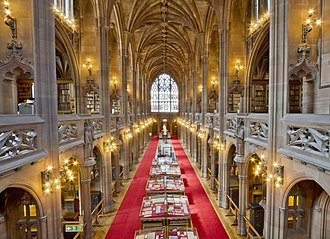 Darkest Hour (film) - Filming took place at the John Rylands Library in Manchester, England as well as the Town Hall.