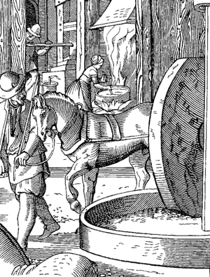 The Manufacture of Oil, drawn and engraved by ...