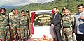 The Minister of State for Defence, Dr. Subhash Ramrao Bhamre dedicating the Injupani Bridge to the nation, in Arunachal Pradesh on December 12, 2017.jpg