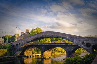 Pontypridd - Image: The Old Bridge, Pontypridd