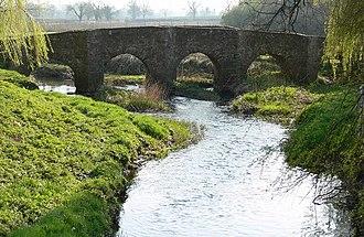 Rothley Brook - Packhorse Bridge Anstey