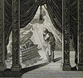 The Phillip Medhurst Picture Torah 511. The holy of holies. Exodus cap 40 vv 34-35. Schellenberg.jpg