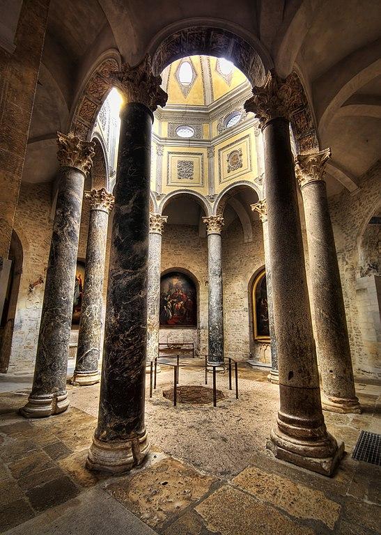 Баптистерий кафедрального собора Экс-ан-Прованса