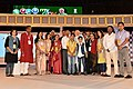 The Prime Minister, Shri Narendra Modi with the contributors to the Mann Ki Baat Radio Programme and the MyGov platform, at the 2nd Year Anniversary celebrations of MyGov, in New Delhi on August 06, 2016.jpg