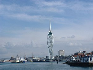 The Spinnaker Tower, Portsmouth - geograph.org.uk - 53572.jpg