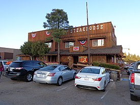 The Steakhouse in Tusayan Arizona.JPG