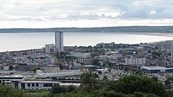 The Tower, Swansea from Kilvey (cropped)