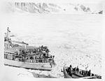 The USS Burton Island (AG-88) and the USS Edisto (AG-89) Breaking Ice (5243265235).jpg
