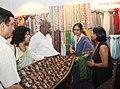 The Union Minister for Textiles, Dr. Kavuru Sambasiva Rao visits after inaugurating the Indian Handicrafts & Gifts Fair (Autumn) 2013, at Greater Noida, Uttar Pradesh on October 15, 2013.jpg
