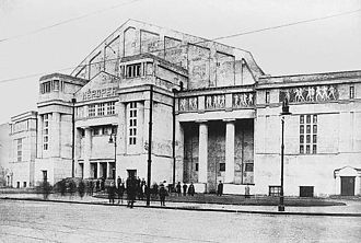 Erkel Theatre - The building after its opening in 1911