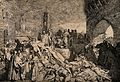 The plague of Florence, 1348; a scene from Boccaccio's Decam Wellcome V0010585.jpg
