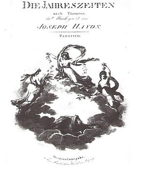 The Seasons (Haydn) - Image: The seasons first edition