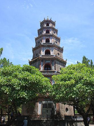 Pagoda of the Celestial Lady - Image: Thien Mu Pagoda