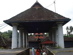 Thiruvanchikulam Temple - Image of the entrance