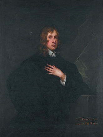Thomas Crew, 2nd Baron Crew - Thomas Crew, 2nd Baron Crew of Stene (1624-1697) (Peter Lely)