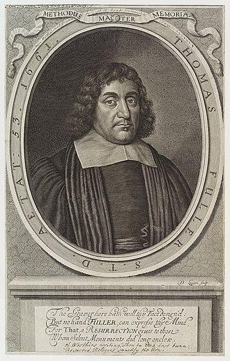 Thomas Fuller - Thomas Fuller