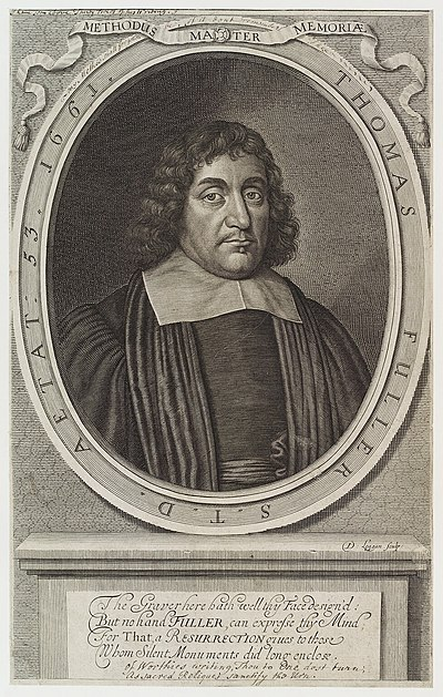 Thomas Fuller, 17th-century English churchman and historian
