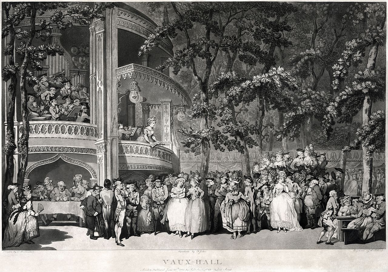 Marvellous Vauxhall Gardens  Wikipedia With Entrancing An Entertainment In Vauxhall Gardens In About  By Thomas Rowlandson  The Two Women In The Centre Are Georgiana Duchess Of Devonshire And Her  Sister  With Cool Weeds In Garden Also Secret Garden Set In Addition Eating Out In Covent Garden And Seaside Garden Ideas As Well As Gardeners Rest Sheffield Additionally Woodstock Gardens From Enwikipediaorg With   Entrancing Vauxhall Gardens  Wikipedia With Cool An Entertainment In Vauxhall Gardens In About  By Thomas Rowlandson  The Two Women In The Centre Are Georgiana Duchess Of Devonshire And Her  Sister  And Marvellous Weeds In Garden Also Secret Garden Set In Addition Eating Out In Covent Garden From Enwikipediaorg