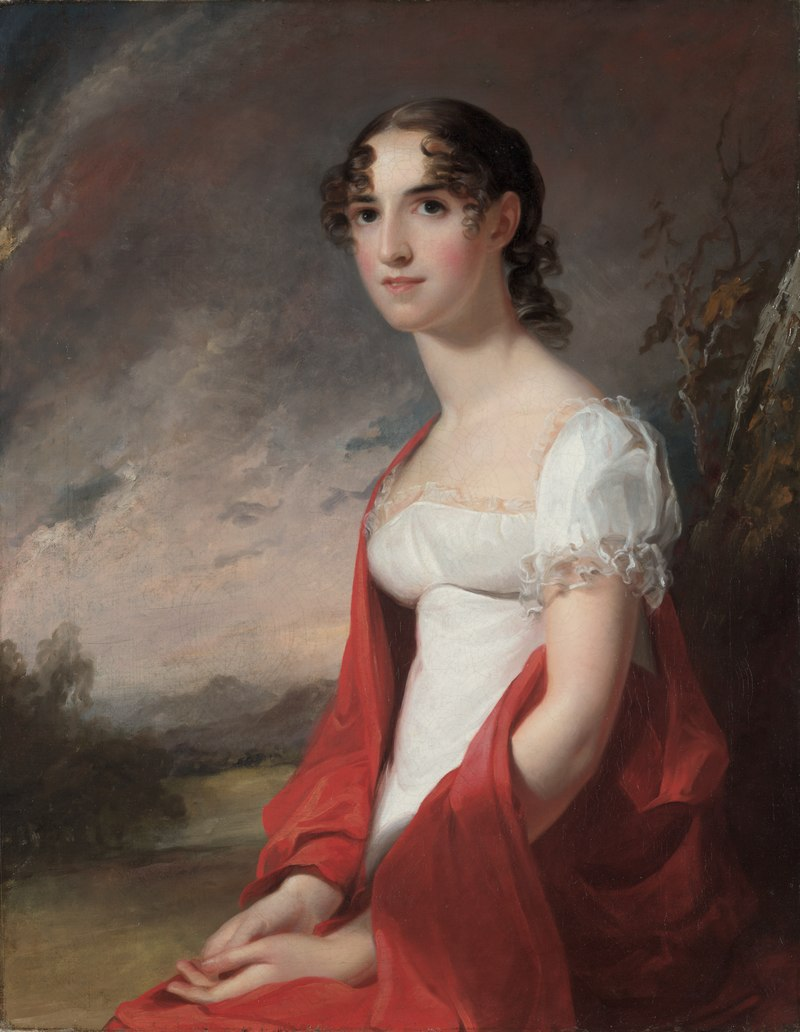 Thomas Sully - Portrait of Mary Sicard David - 1916.1979.2 - Cleveland Museum of Art.tiff