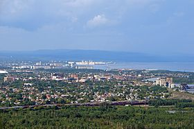 Vue de Thunder Bay