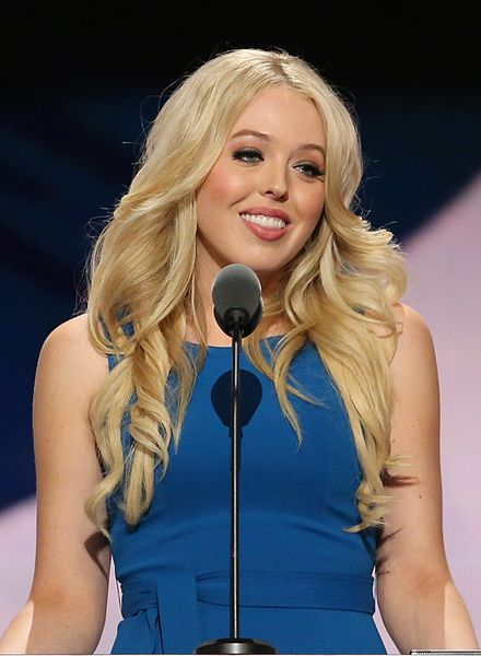 Tiffany Trump.  Just graduated from law school.  The BIG question. Will she end up suing DAD?