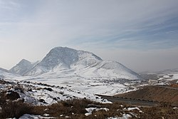 View of Tigranashen from the main north-south highway of Armenia
