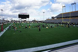Tim Hortons Field - Image: Tim Hortons Field Field