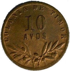 Portuguese Timorese pataca - 10 Avos