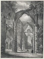 Tintern Abbey. South Window