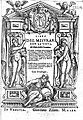 "Title page of ""Libro del Misurar con la Vista"", 1570 Wellcome L0009520.jpg"