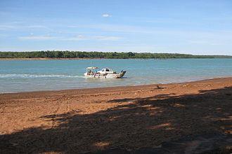 Melville Island (Australia) - Melville Island, viewed from Bathurst Island