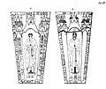 To gravsteiner ved Sakshaug gamle kirke - Petrus Presbiter & Atlas Presbiter (1823) (9521455553).jpg