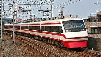 Tobu 200 series - A 200 series set in June 2008