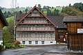 Toggenburg Bächli Rotes Haus front view with roof ornament.jpg