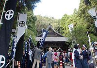 Tokushige shrine Myoenji mairi.JPG