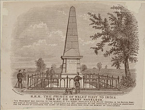 Henry Havelock - The Tomb of Sir Henry Havelock