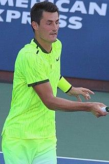 Bernard Tomic Australian tennis professional