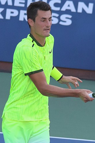 Bernard Tomic - Tomic at the 2016 US Open
