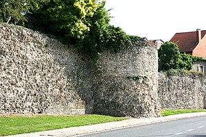 Tongeren - Tongeren Roman wall