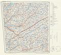 Topographic map of Norway, C38 vest Hunnedalaen, 1959.jpg