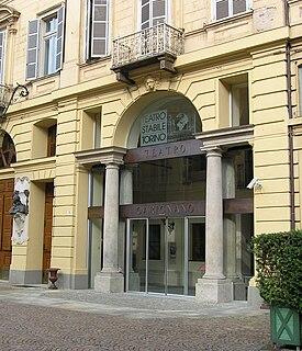 Teatro Carignano theatre in Turin, Italy