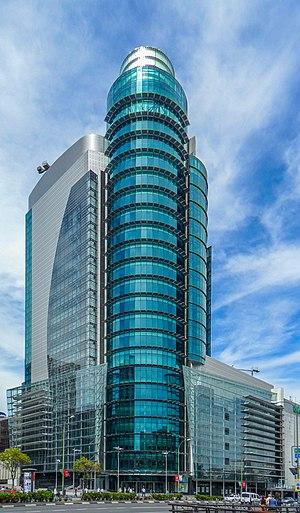El Corte Inglés - El Corte Inglés at AZCA (Torre Titania), in Madrid.