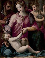 Holy Family with St John the Baptist