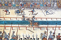 Tournament between Henry II and Lorges